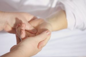 Fizjoterapia - zespół cieśni nadgarstka
